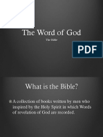 03 the Word of God