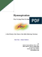 Hymnspiration Workbook