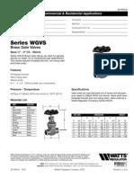 WGV, WGVS Specification Sheet