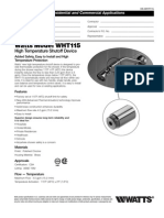 WHT115 Specification Sheet