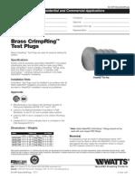 WP24B,WP24B-08PB,WP24B-12PB,WP24B-16PB Specification Sheet
