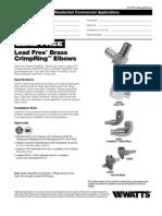 LFWP19B,LFWP20B,LFWP21B,LFWP22B,LFWP23B Specification Sheet