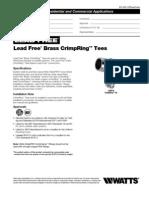 LFWP18B Specification Sheet