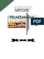 Metode Pelaksasanaan Jalur Pipa