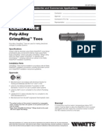 Poly-Alloy CrimpRing Tees Specification Sheet