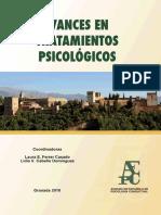 AVANCES EN TRATAMIENTOS PSICOLÓGICOS