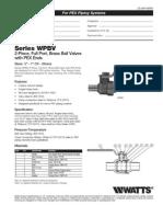 WPBV Specification Sheet