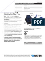 WPCCT-6 Specification Sheet