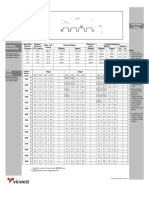 Fd306-m Load Table PDF