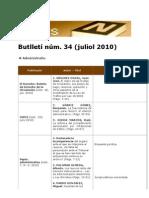 BiblioNews 34 (juliol 2010)