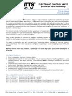 Classic Series F113-40 (Globe), F1113-40 (Angle) Installation Instructions