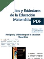 Estandares de Educacion Matematica