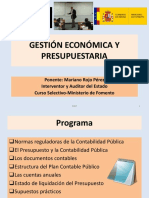 Gestión Económica y Presupuestaria
