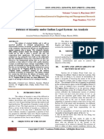 DefenceOfInsanityUnderIndianLegalSystemAnAnalysis.PDF