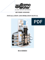 Reverse Osmosis R14-SERIES Installation Instructions