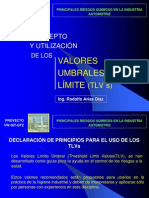 valores umbrales