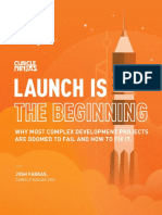 launch is the beginning