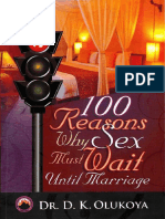 100 Reasons Why Sex Must Wait Until Marriage-D.K Olukoya