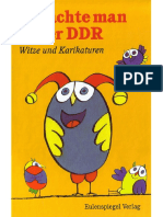 - So Lachte Man in Der DDR. Witze Und Karikaturen (1999, Eulenspiegel)