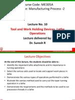 MEC305A Lecture 10
