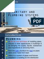 Sanitary plumbing