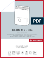 ariston deos 16s - 20s manuale d'uso