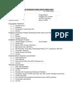 Checklisttransfer Pasien Antar Rumah Sakit