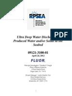 09121 310001 Final Report Prod Water