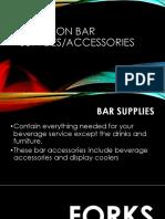 Common Bar Supplies