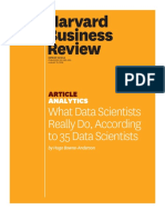 HBR - What is Data Science
