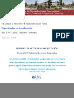 Las NIIF en el Perú - Alex Cuzcano.pdf