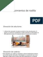 Fortalezimientos de Rodilla