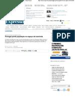 Portugal perde população no espaço lusófona