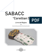 Sabacc Corellian Spike Livre de Règles 3.2.1