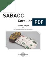 Sabacc Corellian Spike Livre de Règles 3.2.2