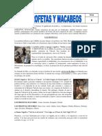 Tema 6. Profetas y Macabeos