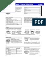 Manual Casio AE-1300WH