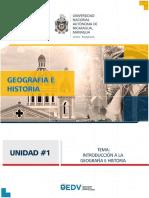 i Unidad Geografia e Historia de Nicaragua