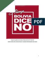 Plan Gob Boliviadiceno