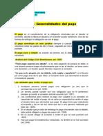 Generalidades Del Pago