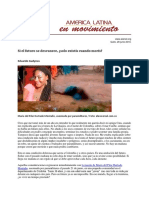Colombia, Brasil y la violencia