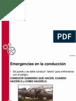 Emergencias en La Conducion y Rebenton Del Neumatico
