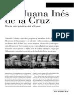 Copia de Celorio Gonzalo. Sor Juana Hacia Una Poética Del Silencio