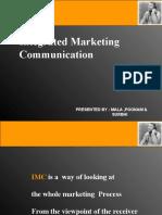 Integrated Marketing Communication Final