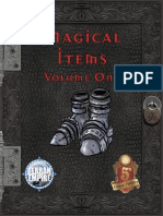 Magical Items - Volume One