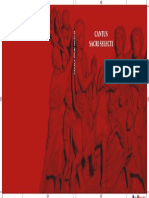 Cantus sancti selecti (cubierta)