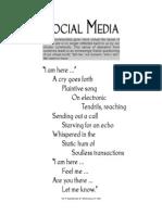 Social Media (A Poem)