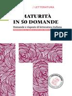 (Fresca Rosa Novella. La Maturità in 50 Domande.) Corrado Bologna, Paola Rocchi - Fresca Rosa Novella. La Maturità in 50 Domande-Loescher (2015)