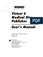 VirtuaE Users Manual