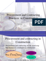 Procurement and Contracting Practices  in Construction.ppt